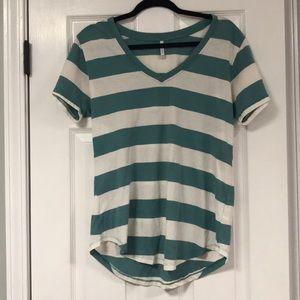 Z Supply Striped Shirt L